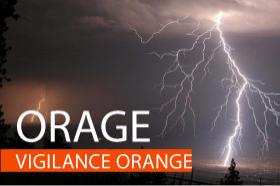 Commune de Mézin - Vigilance orange pour orages